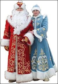 заказ поздравления деда мороза и снегорочки в Тюмени