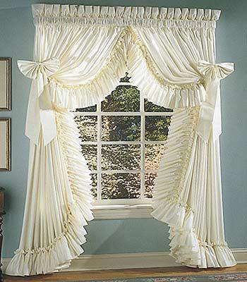 Купить готовые шторы для кухни в