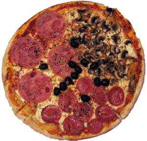 Заказ и доставка пиццы в Тюмени