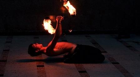 Огненное шоу в Тюмени
