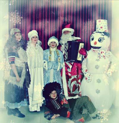 Театрализированное представление на Новый год в Тюмени